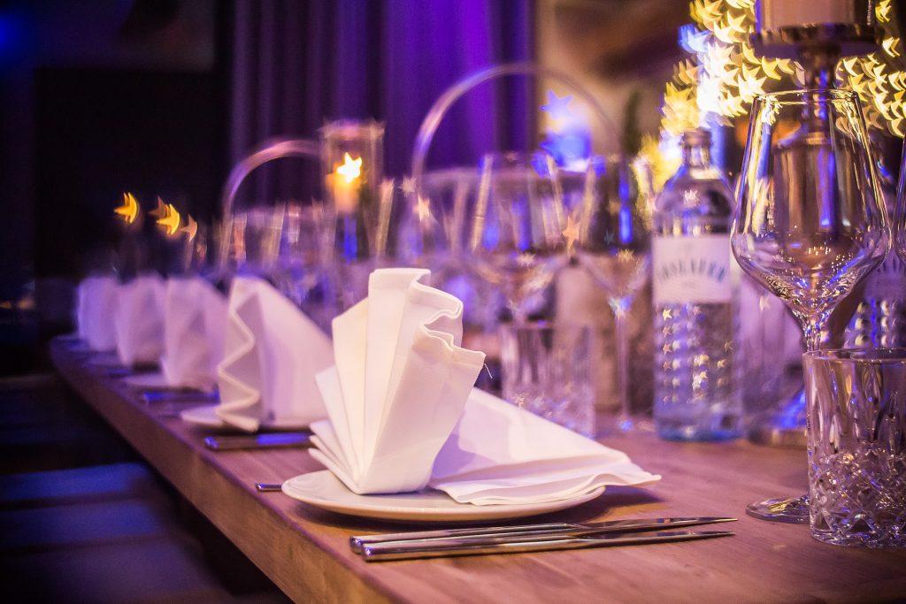 Hochzeit an der Mosel, Tischbesteck