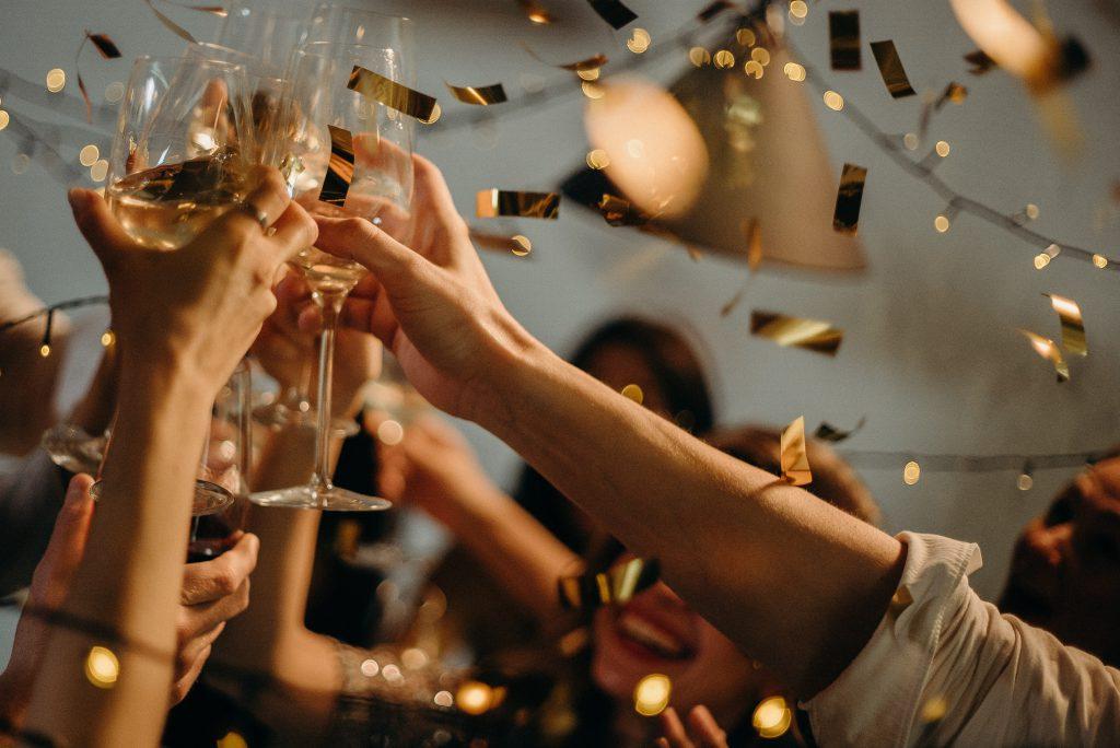 Event , Firmenfeier , Gäste feiern